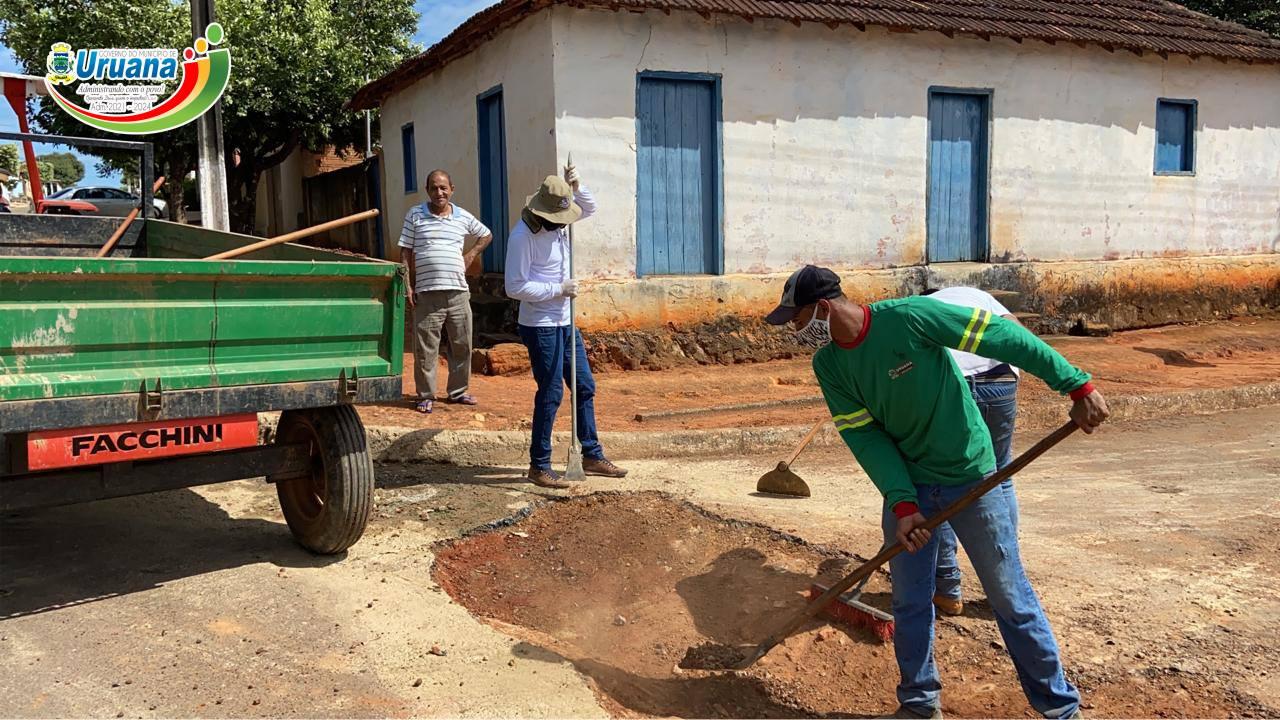 Programa Mobilidade Urbana Chega ao Distrito de Uruíta.